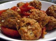 Cena - albondigas (meatballs)