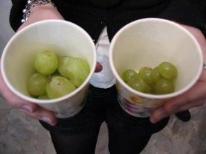 grapes at nochevieja