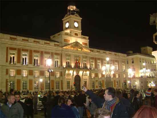 la nochevieja in Madrid