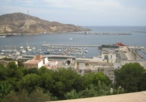 cartagena view from the castle