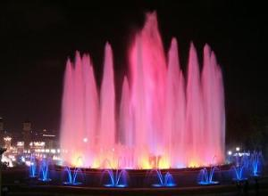 magic fountain of montjuic barcelona