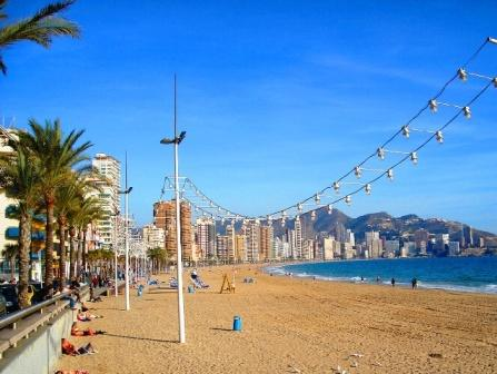 benidorm levante playa