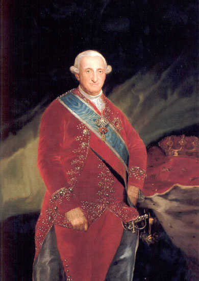 portrait of king carlos by goya