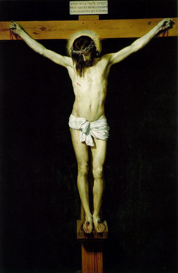 christ on the cross - Velazquez