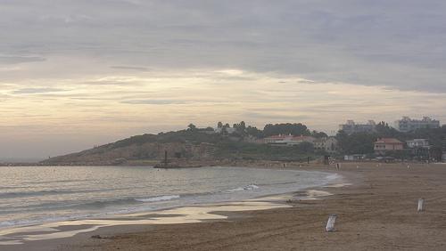 La playa de La Pineda