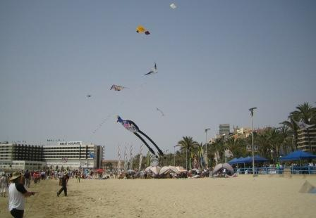 alicante postiguet beach