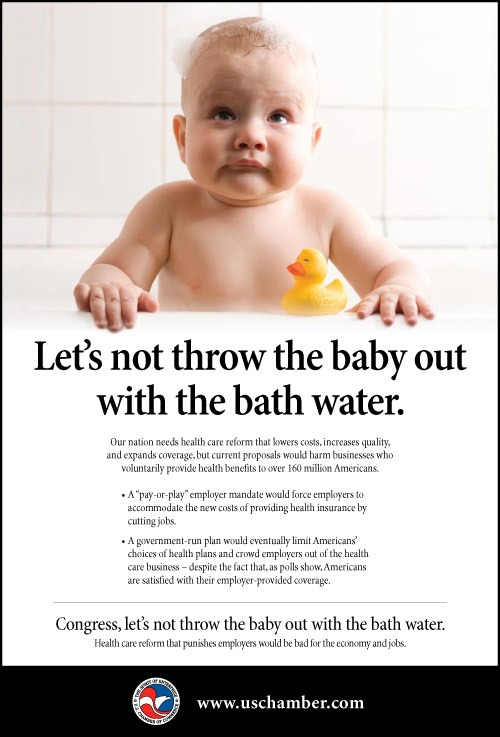 don`t throw baby out with bathwater