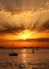 Sunset in Balearics