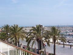 Barcelona port olimpic area