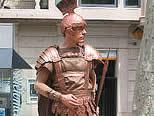 Estatua en las Ramblas