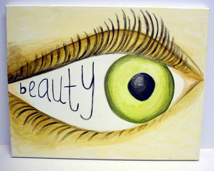 beauty in eye of beholder