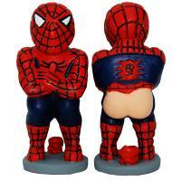 El Caganer Spiderman