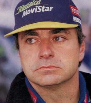 carlos sainz - rally driver