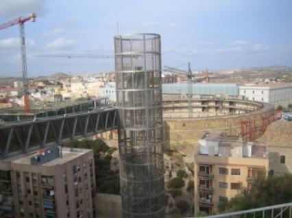 cartagena elevator to the castle