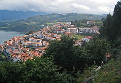 Pueblo costero en Asturias