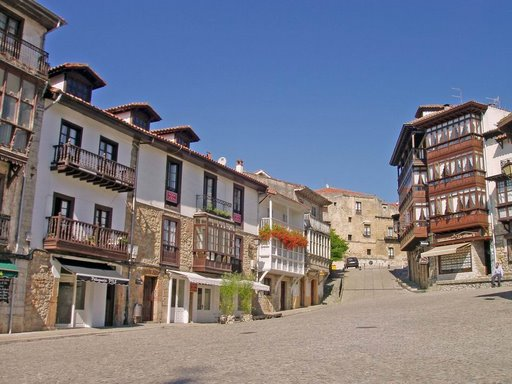 comillas old town