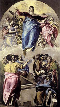 el greco - assumption of the virgin