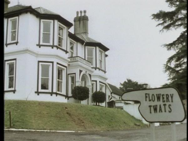 grotty hotel - fawlty towers