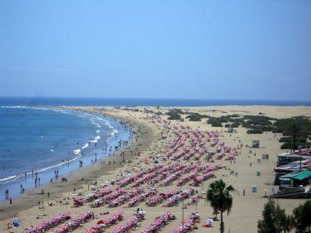 playa del ingles playa