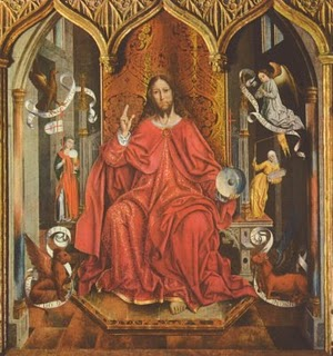 Blessing Christ by Fernando Gallego