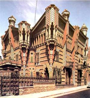 gaudi casa vicens barcelona