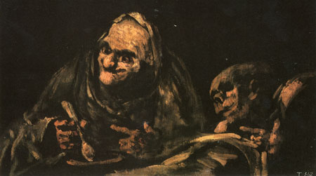 black paintings by goya