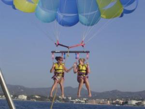 Ibiza parasailing