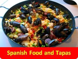 Spanish food and tapas