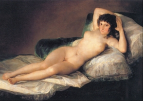 la maja desnuda - goya