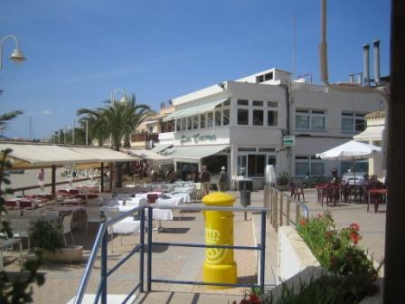 cabo de palos eating zone