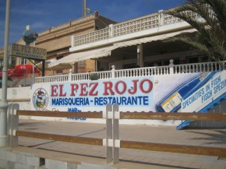 pez rojo restaurante