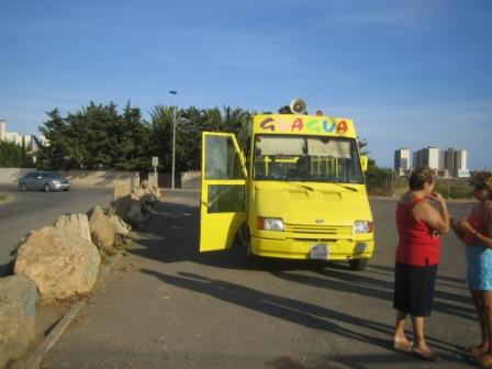 la manga del mar menor tourist bus