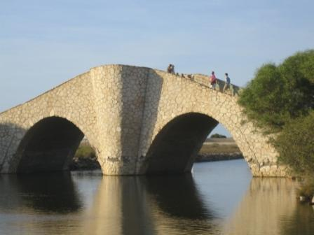 La manga humpback bridge near Veneciola