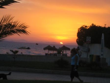 La Manga sunset