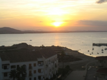 la manga sunset