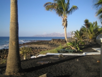 Lanzarote view from Velasquez garden