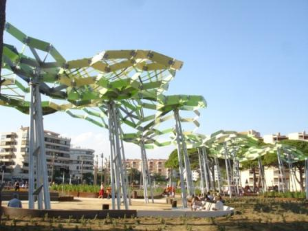 la pineda - metal tree sculptures