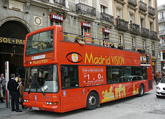 Madrid Vision Bus