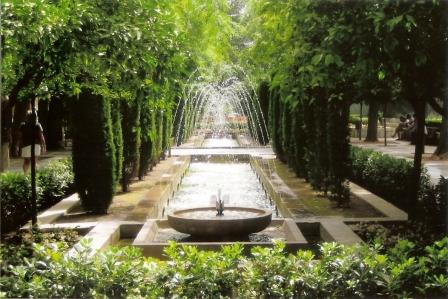 majorca-palma-pretty jardins next to sa seu