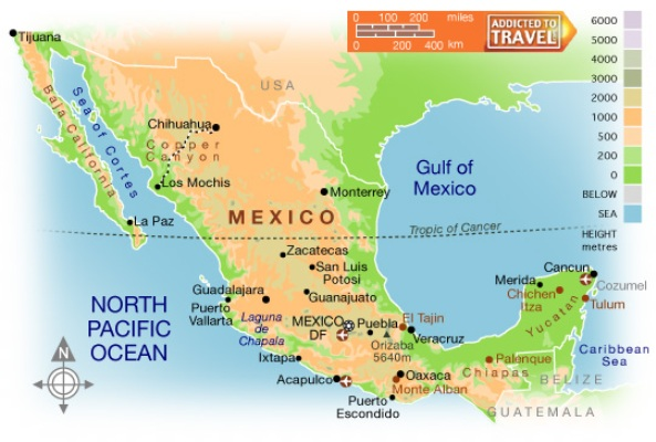 a report on mexico the northernmost country of latin america Mexico is the northernmost country of latin america it shares a northern  boundary with the united states, about two-thirds of which is marked by the rio  grande.