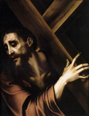 Christ carrying the cross - luis de morales