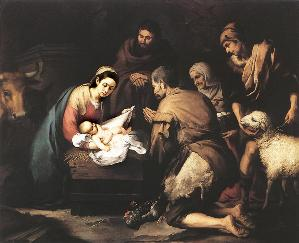 adoration of the shepherds - Murillo