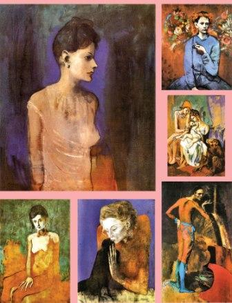picasso pink period