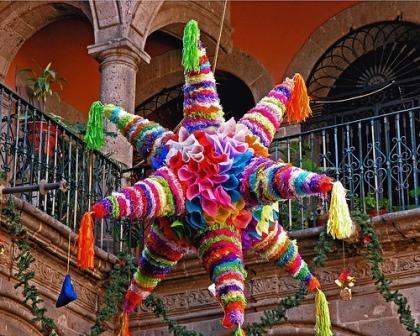 Piñata - estrella