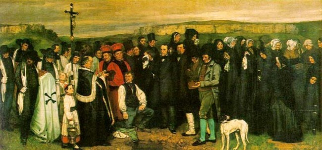 burial at Ornans - Gustave Courbet