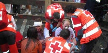 San Fermin - injured/heridos