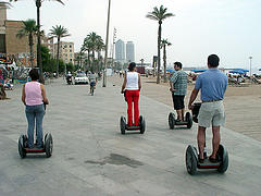 Segway por Barcelona