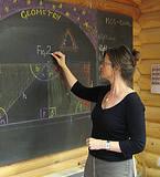 La profesora