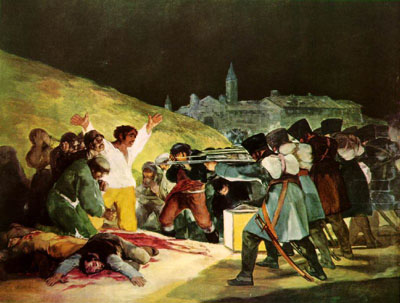 the third of may 1808 by goya