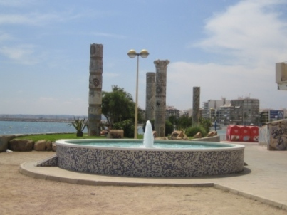 Monument to Mediterranean cultures